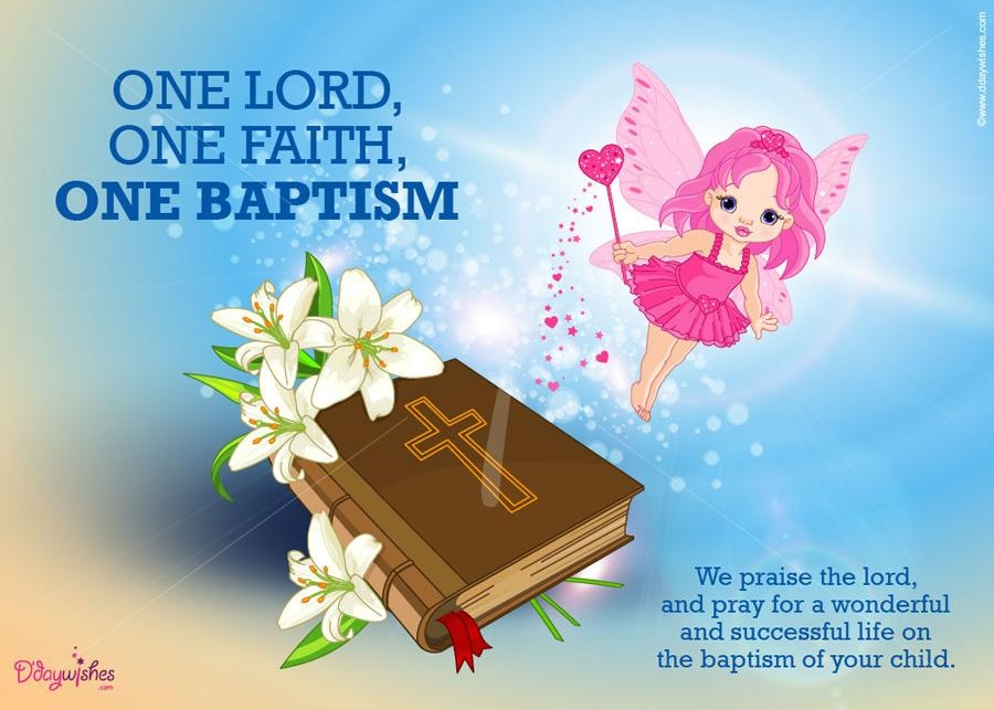Congratulations On Baptism Quote 1 Picture Quote #1