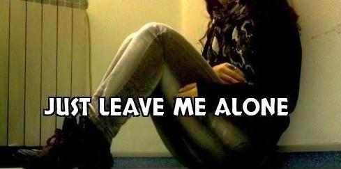 Please Leave Me Alone Quote 1 Picture Quote #1