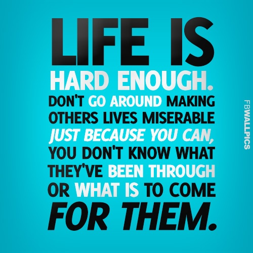Life Is Hard Quote 3 Picture Quote #1