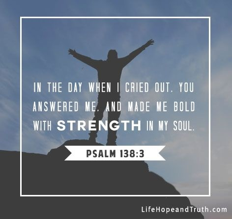 Bible Quote About Strength 5 Picture Quote #1