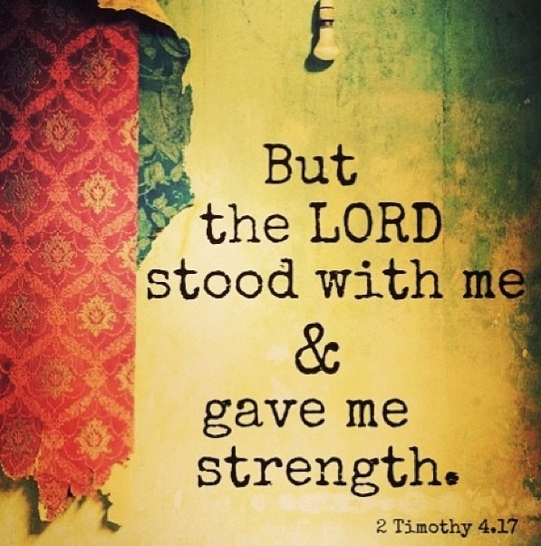 Bible Quote About Strength In Hard Times 1 Picture Quote #1