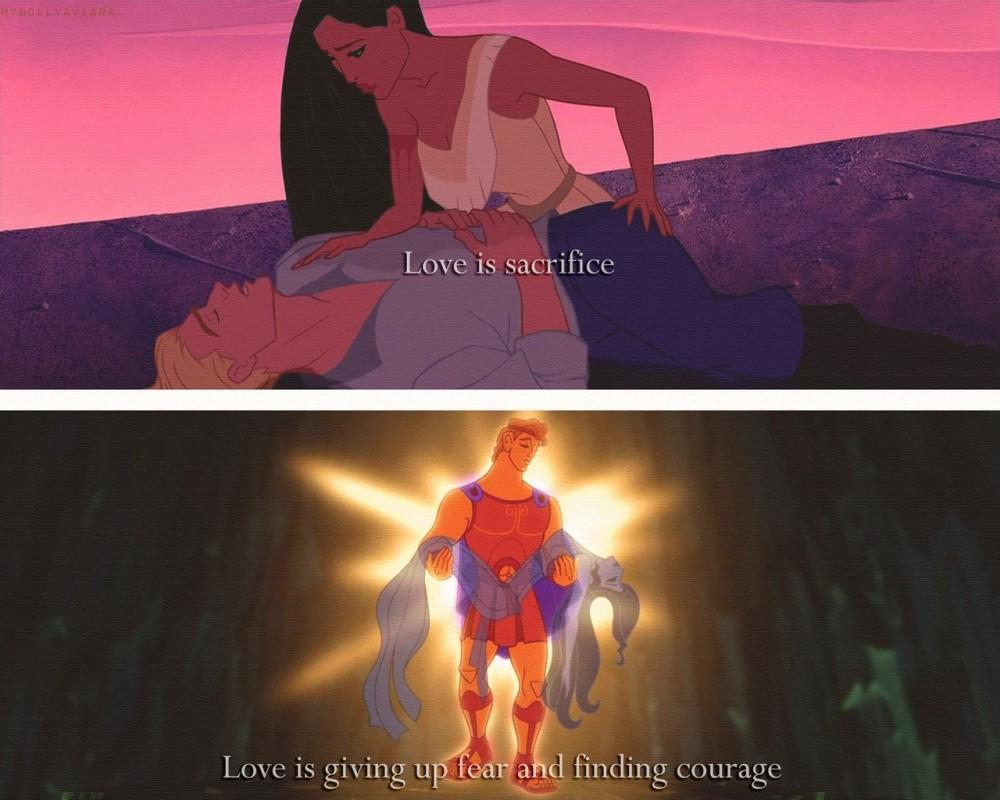 Disney Love Quote 1 Picture Quote #1