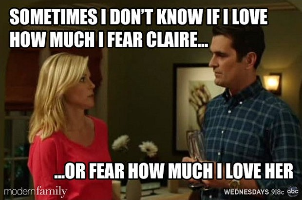 Claire Modern Family Quote 2 Picture Quote #1