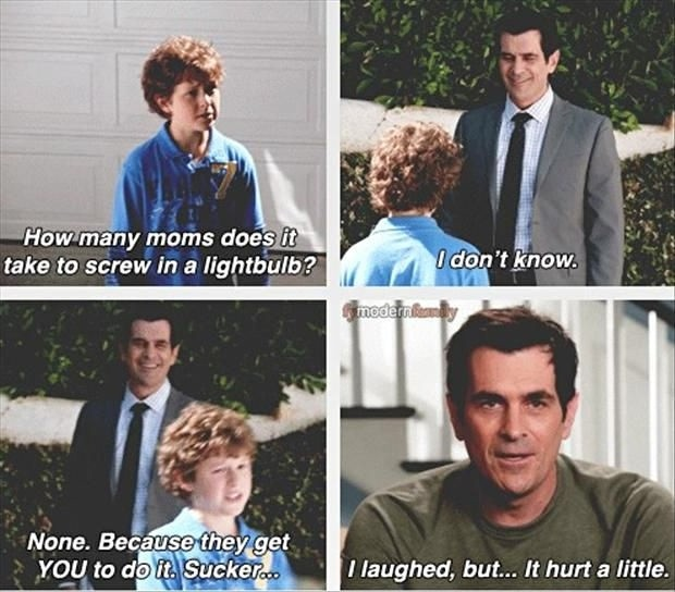 Modern Family Funny Quote 5 Picture Quote #1