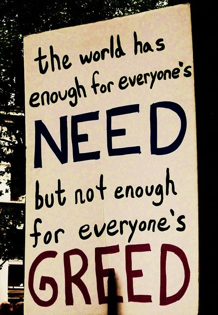 Greed Quote 3 Picture Quote #1