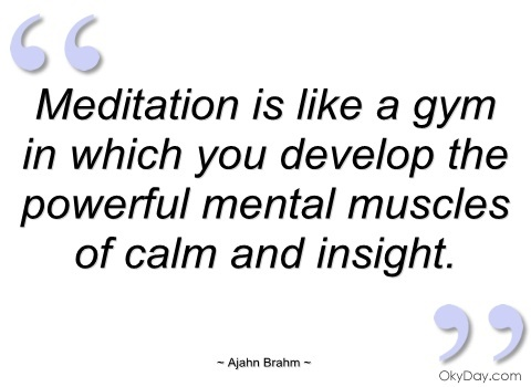 Meditation Quote 2 Picture Quote #1