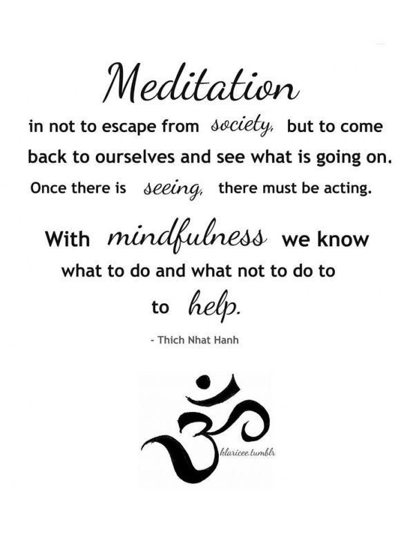 Meditation Quote 8 Picture Quote #1
