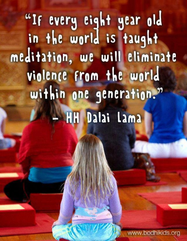 Meditation Quote Dalai Lama 2 Picture Quote #1