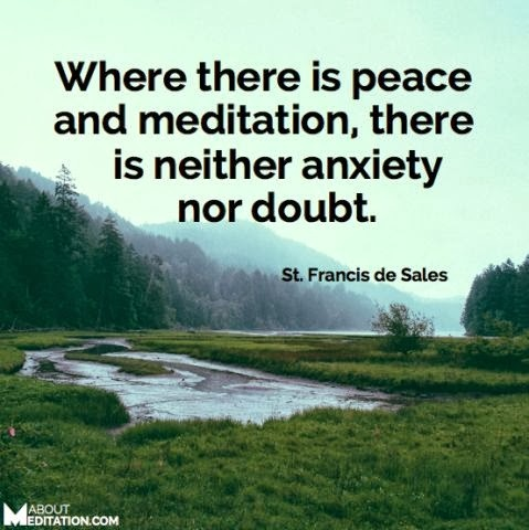 Peaceful Meditation Quote 1 Picture Quote #1