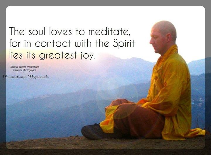 Spiritual Meditation Quote 1 Picture Quote #1