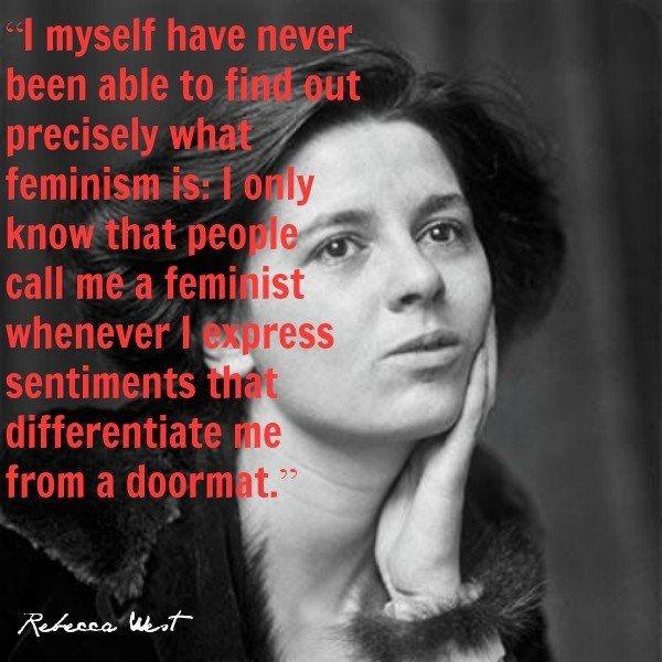 Feminist Quote 1 Picture Quote #1