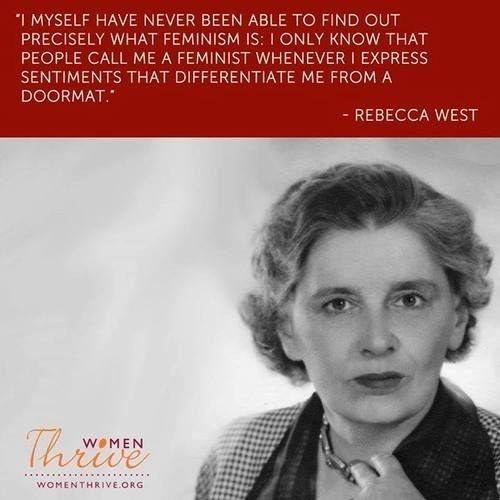 Feminist Quote 5 Picture Quote #1