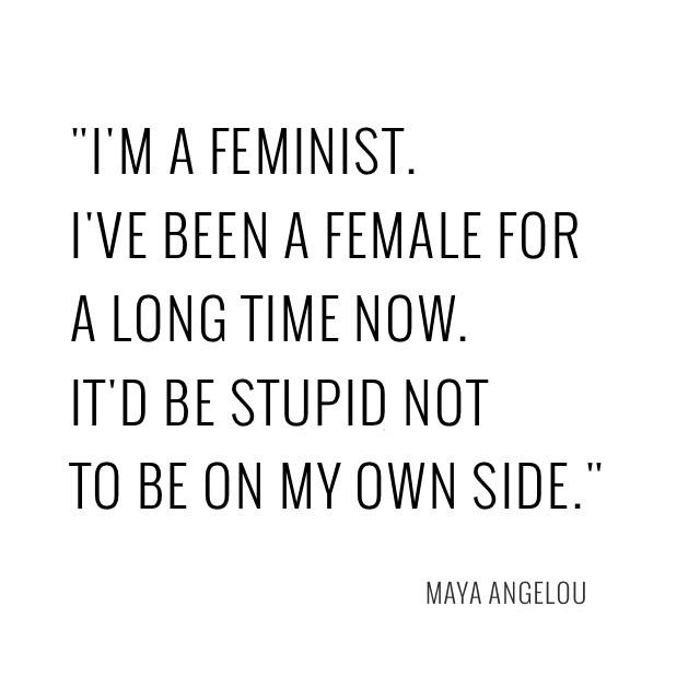 Feminist Quote 8 Picture Quote #1