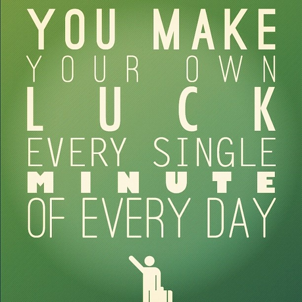Luck Quote 3 Picture Quote #1