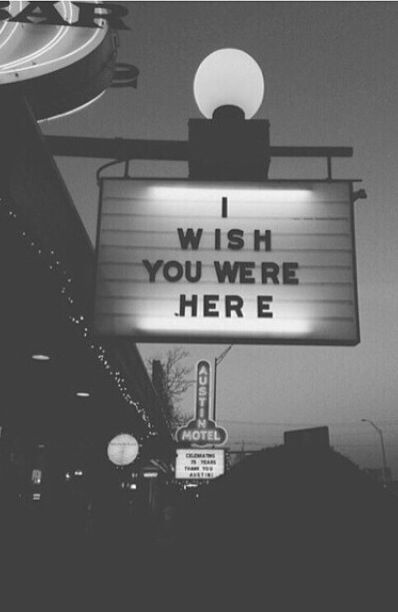 Wish You Were Here Quotes Pleasing Pink Floyd Wish You Were Here Quote  Quote Number 610334