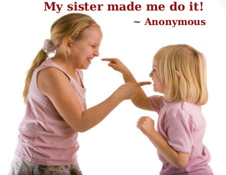 Funny Sister Quote 5 Picture Quote #1