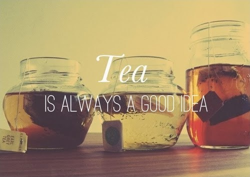 Drinking Tea Quote 6 Picture Quote #1