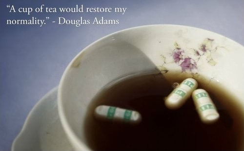 Cup Of Tea Quote 4 Picture Quote #1