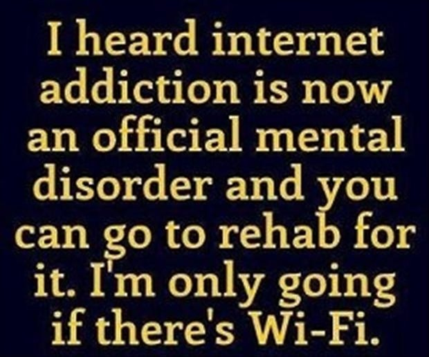Funny Addiction Quote 1 Picture Quote #1