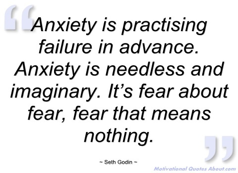 Anxiety Quote 2 Picture Quote #1