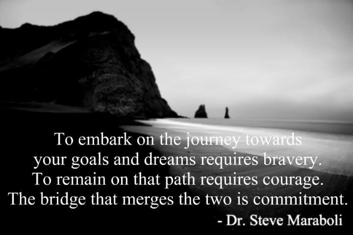 Courage And Bravery Quote 1 Picture Quote #1