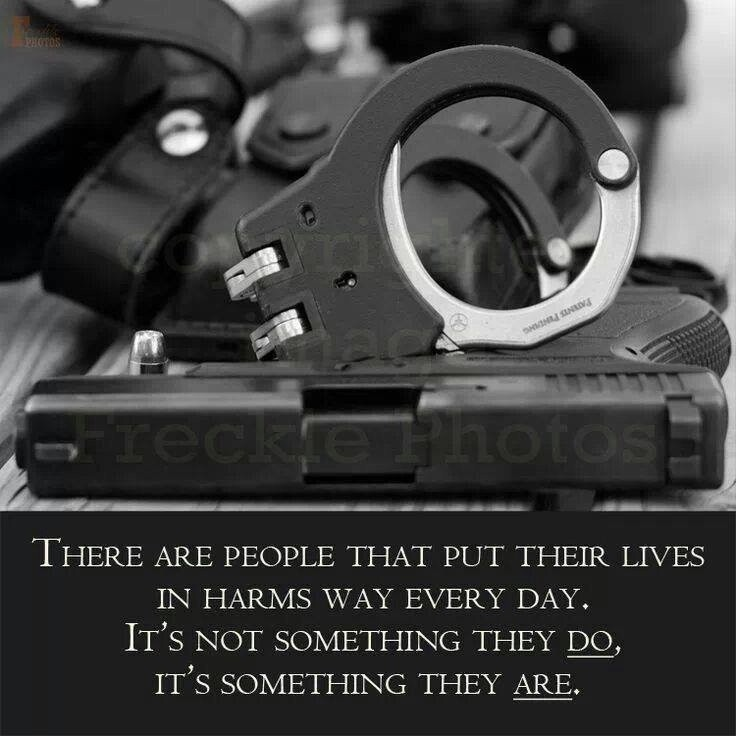 Police Bravery Quote 1 Picture Quote #1