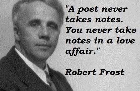 Robert Frost Poetry Quote 2 Picture Quote #1