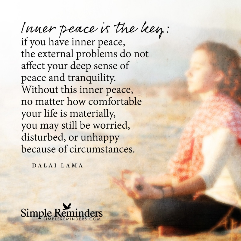 Inner Peace Quote 8 Picture Quote #1