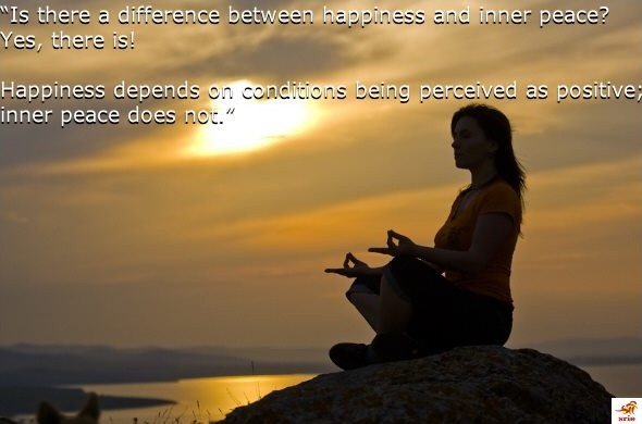 Captivating Inner Peace And Happiness Quote 1 Picture Quote #1