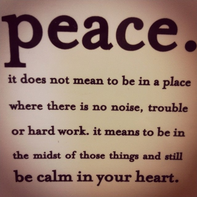 Inner Peace Quote 10 Picture Quote #1