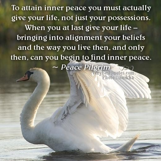 Inner Peace Quote 11 Picture Quote #1