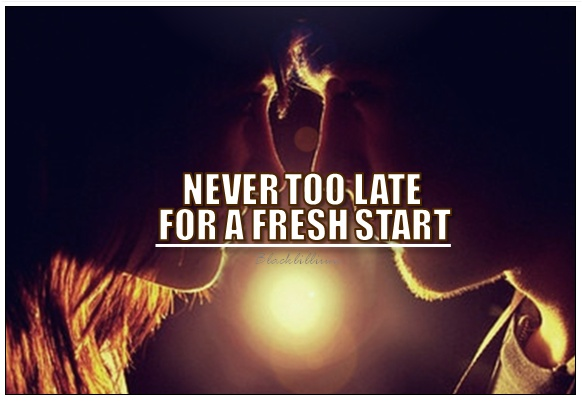 Starting A New Life Quote 2 Picture Quote #1