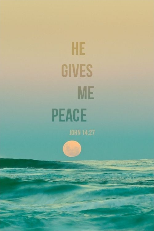 Peace Of Mind Quotes Bible Quote Peace Of Mind  Quote Number 610809  Picture Quotes