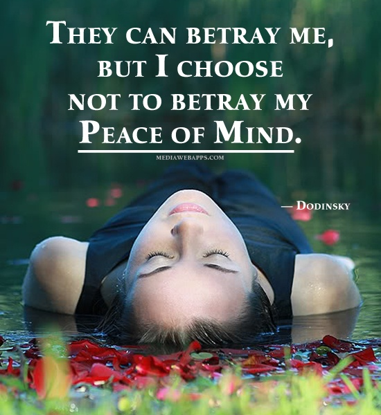 Peace Of Mind Quotes: Peace Of Mind Quotes & Sayings