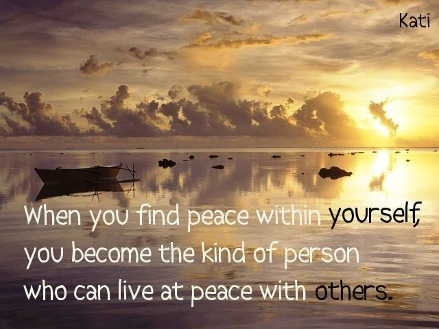 Peace Of Mind Quotes & Sayings