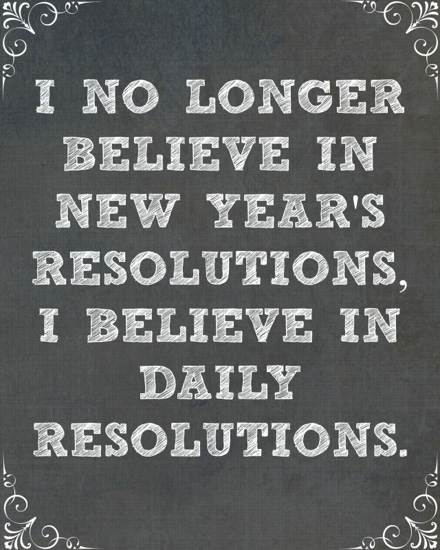 New Years Resolution Quote 2 Picture Quote #1