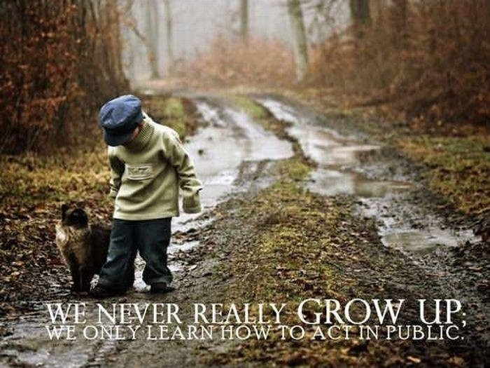 Grow Up Quote 7 Picture Quote #1