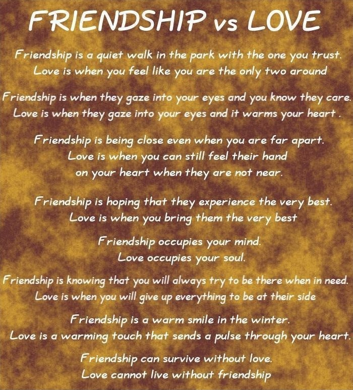 Love And Friendship Quote 1 Picture Quote #1