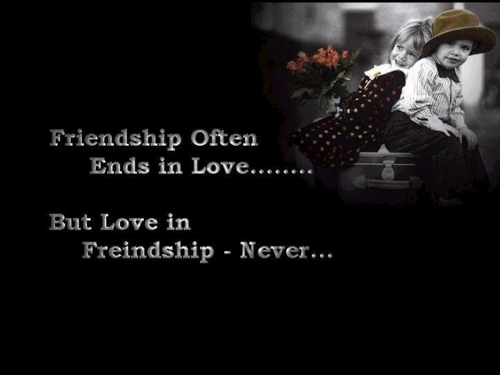 Love And Friendship Quote 2 Picture Quote #1