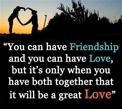 Love And Friendship Quote 4 Picture Quote #1