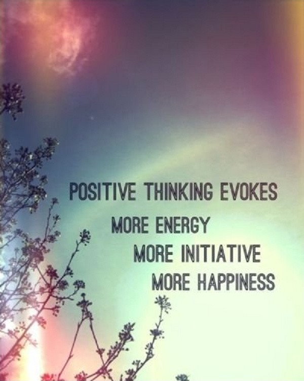 Think Positive Quote 1 Picture Quote #1