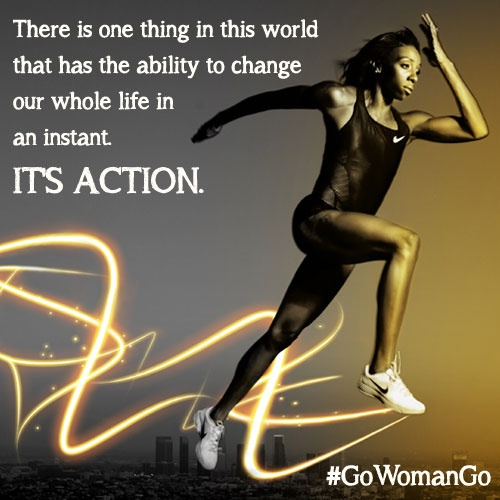 Motivating Quote About Action 1 Picture Quote #1
