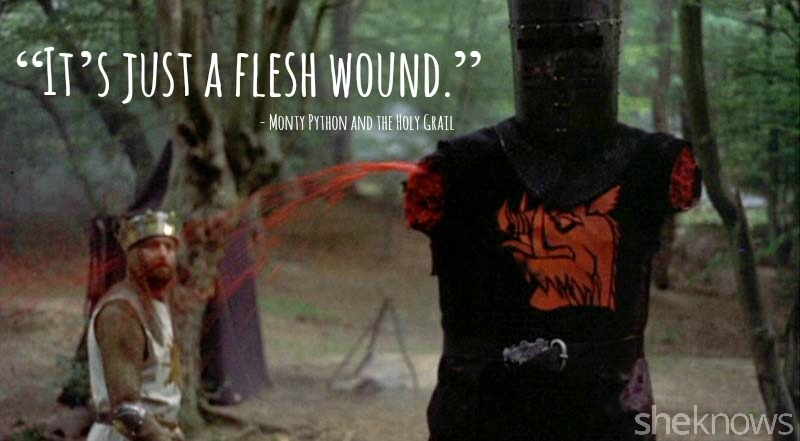 Monty python and the holy grail quote