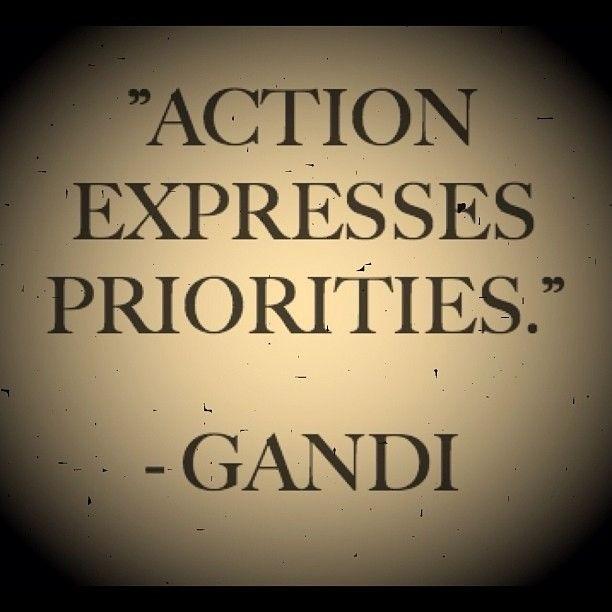 Priority Quote 6 Picture Quote #1