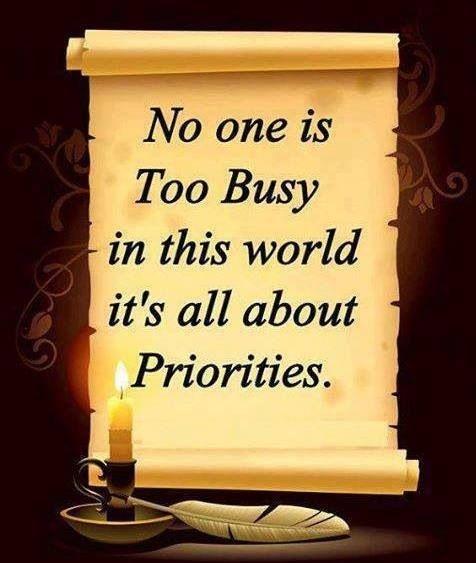 Priority Quote 9 Picture Quote #1