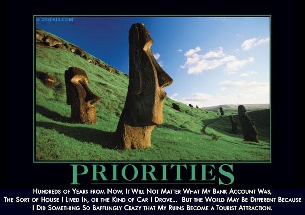 Priority Quote 15 Picture Quote #1