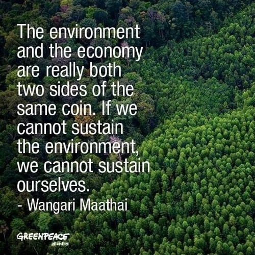 Save The Environment Quote 1 Picture Quote #1