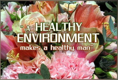 Healthy Environment Quote 1 Picture Quote #1