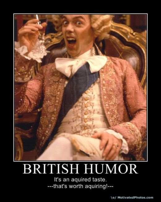 British Humour Quote 1 Picture Quote #1