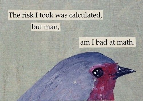 Calculated Risk Quote 1 Picture Quote #1